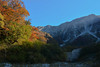 Daisen Moto-dani Valley (Yohsuke_NIKON_Japan) Tags: d7100 2485mm autumn fall daisen mountain motodani daisencho japan sanin trekking hiking evening november 大山 元谷 紅葉 yellowleaves 秋 山陰 鳥取 northface nature beautyinnature clearsky bluesky sky