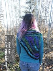 Huntress Cowl 01d (zreekee) Tags: sparkledoomdesigns saskatchewan handmade crochet canada rhiannon cowl hungergames