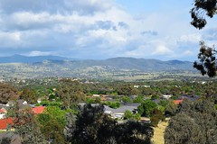 Southern Canberra towards the Brindabella Range (AndyBrii) Tags: canberra act australia conder hires