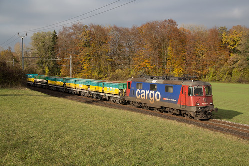 CFF Cargo Re 420 160 à Gollion