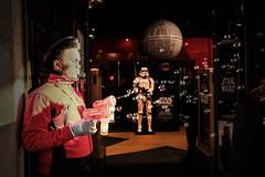 Jedi training day one: bubble guns (samrodgers2) Tags: jedi starwars hamleys regentstreet stormtrooper deathstar fujixpro2 london londonstreetphotography