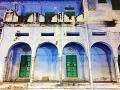 Pushkar, India (marjoleinsteetzel) Tags: colourfulindia colourful blue street india pushkar