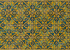 Colorful faience tiles at shrine of sultan ali, Kashan county, Mashhad-e ardahal, Iran (Eric Lafforgue) Tags: 0people ancient architecture art artandcraft ceramic colorimage coloured cultural culture decorated decoration heritage history horizontal iran iranianculture kashancounty mashhadeardahal middleeast mosaic multicoloured mural nopeople nobody orient ornate outdoors pattern persia persian tile tiled tiles tilework traditional yellow