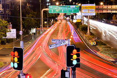 Traffic Stack 3 (PhilPhotosity) Tags: traffic stacked blur longexposure city light lights trails lighttrails brisbane brisbaneanyday