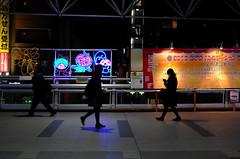 Appy Family (hidesax) Tags: appy family    night passersby ageo saitama japan hidesax leica x vario