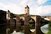 Pont Valentre (Keith (M)) Tags: riverlot france contaxg2 c41 pontvalentre 2002 cahors film kodak