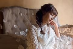 (asa.sunny0821) Tags: 婚礼 wedding quiet meditation frail modeling