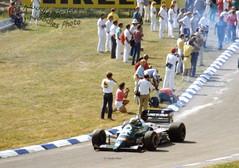 Teo Fabi - Benetton B186 BMW (Noodles Photo) Tags: teofabi benettonb186bmw groserpreisvondeutschland1986 grandprixgermany1986 germangrandprix1986 benetton b186 benettonb186 rennwagen formel1 racing formulaone autorennen