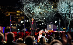 2016.12.01 Christmas Tree Lighting Ceremony, White House, Washington, DC USA 09327-2