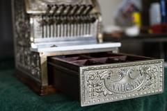 DSC_4237 (cf1703) Tags: nickle cashregister register silver 1920s old antique mechanical rustic