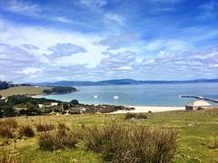 Darlington Bay. Maria Island.