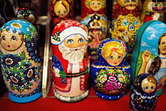Russian Nesting Dolls (WilliamND4) Tags: dolls russiannestingdolls christmas santa festive