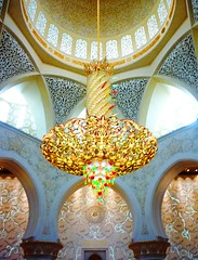 Chandelier in Sheikh Zayed Mosque, Abu Dhabi /     , - (Irina.yaNeya) Tags: chandelier light sheikhzayedmosque abudhabi uae mosque architecture araadeluces luz mezquita mezquitasheikhzayed abudabi eau arquitectura               interior