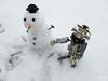 Bye bye 2016!! (trz_terez) Tags: terez trz lego moc legomoc neige snow bonhommedeneige newyear