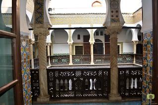 Chambre donnant sur le patio, dans le palais Mustapha Pacha