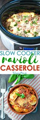 Easy Slow Cooker Rec (alaridesign) Tags: easy slow cooker recipes ravioli casserole