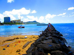 This morning at Waikiki Beach - October 12, 2014 - 36 (Jimmy - Home now) Tags: beach beautiful happy hawaii waterfront pacific waikiki happiness pacificocean honolulu waikikibeach pacificrim happythanksgiving pacifics