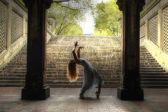 Melissa (Narratography by APJ) Tags: nyc ny stairs terrace centralpark dancer melissa ballroom bethesda apj narratography