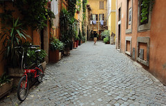 trastevere (_Pek_) Tags: roma bike trastevere explore
