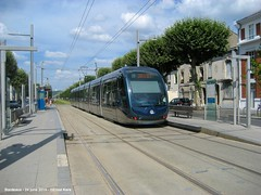 Jardin Botanique (ernstkers) Tags: bordeaux citadis streetcar tram tramvia tranvia trolley strasenbahn eléctrico spårvagn bonde lightrail