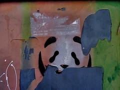 pentimento 4... (bruce grant) Tags: portugal stencil panda lisboa tags parede