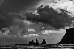 Day Five (p.fabian) Tags: bw cloud rock island iceland islandia wolke  nube  schwarzweis  5daybwchallenge