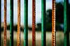 Zebra Door (Walimai.photo) Tags: door lines vertical metal puerta nikon rust zebra 18105 cebra líneas óxido d7000