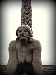 auweia (misone2000) Tags: park winter oslo norwegen nackt frau haar 2014 strick marter stumm sklavin auweia misone2000 frogener mundtod skulrtur