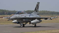 692 F-16BM 338 Skv (Sonic Images) Tags: exercise tiger 2009 meet nato kleine 692 brogel skv 338 f16bm