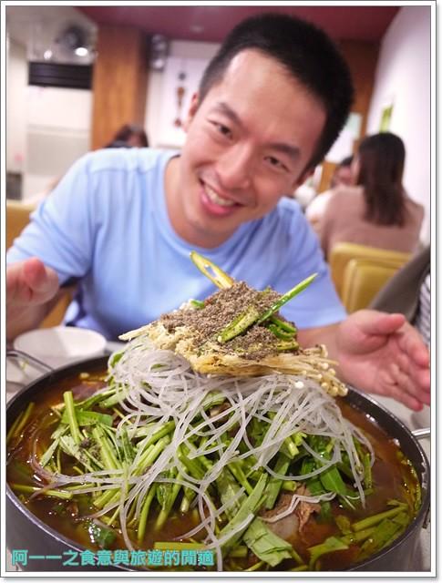 捷運行天宮站美食韓劇韓式料理東輝韓食館土豆豬骨湯銅板烤肉image028