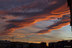 In flames ( alfanhu) Tags: sunset atardecer la flames windy viento vila burning nubes villajoyosa capvespre joiosa