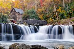 Babcock State Park 2 (denver guy) Tags: autumn fall mill waterfall foliage wv waterfalls babcock babcockstatepark gladecreekgristmill