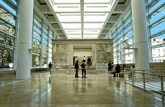 "Ara Pacis • <a style=""font-size:0.8em;"" href=""http://www.flickr.com/photos/89679026@N00/15386570620/"" target=""_blank"">View on Flickr</a>"