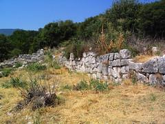 Lykosoura, Arkadia: hydraulic installations 15