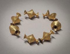 IMG_5499 (jaglazier) Tags: ireland dublin irish art archaeology gold beads october crafts jewelry museums nationalmuseum bronzeage necklaces metalworking 2014 102114 biconical 2ndmilleniumbc sheetwork copyright2014jamesaglazier