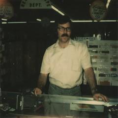 Daddy Selling a Polaroid  cerca 1973! (Lucy*Lou) Tags: polaroid roidweek2014