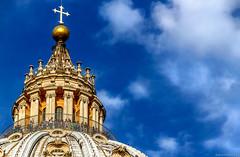 Cupola San Pietro (Spiros I.) Tags: cupola dome sanpietro