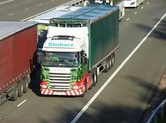 H6568 - PE12 TXN (Cammies Transport Photography) Tags: truck katie lorry louise eddie flyover scania esl m74 lockerbie stobart eddiestobart r440 h6568 pe12txn