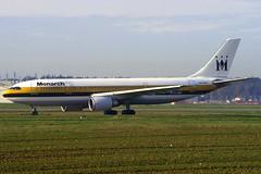 Monarch A300-605R G-OJMR TLS 30/12/1994 (jordi757) Tags: airplanes monarch airbus toulouse blagnac tls avions a300 a300600 lfbo gojmr