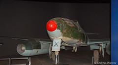 Australian War Memorial, Canberra (andrew52010) Tags: canberra warmemorial act jetfighter australiancapitalterritory australianwarmemorial militarymuseum messerschmitt262