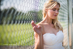Tennis Courts (Rafe Abrook Photography) Tags: wedding portrait beauty fence bride wire dof tennis bucks marraige tenniscourt hedsor leadinlines hedsorhouse