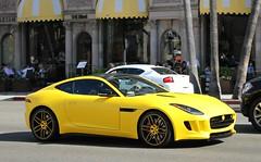 Jaguar F-Type R (SPV Automotive) Tags: sports car yellow exotic r jaguar coupe matte ftype