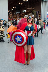 Female Captain America Cosplay (Marvel) (vince.ng86) Tags: america cosplay captain comiccon nycc nycc2014