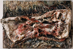 1992.10-1993.10 Panel painting mixed material 板上混合材料画 -2 (8hai - painting) Tags: painting mixed shanghai panel yang material 上海 bahai hui 199210199310 36x54cm 板上混合材料画