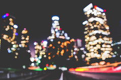 I'm Back (THEEMARK) Tags: street city sky cars night stars lights losangeles nikon exposure flickr downtown traffic bokeh sigma roofs explore discover d800