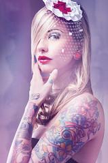 Tattoo Model - Lady Diamond (inspiration_de) Tags: inspiration tattoo lady ink diamond sleeve