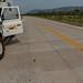 Estrada de concreto que cruza o leste boliviano