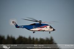 Bristow - LN-ONB - Sikorsky S-92 (Aviation & Maritime) Tags: norway helicopter bergen bristow sikorsky flesland helikopter bgo s92 enbr sikorskys92a bergenlufthavnflesland bergenairportflesland lnonb