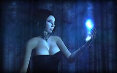 """Selene"" - FGI2014 Rynn Verwood (Rynn Verwood) Tags: moon snow dark witch vampire magic goddess fallen gods goddesses"