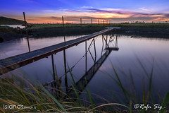 Twilight at the Fish Farming